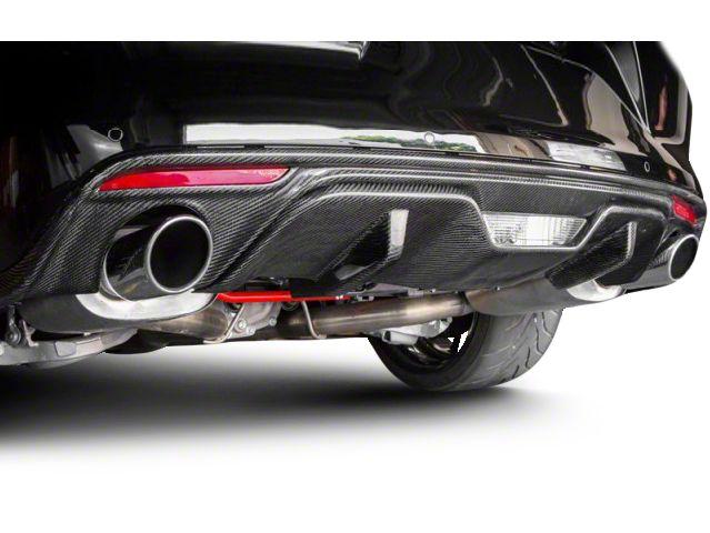 Carbon Fiber Rear Diffuser Trim (15-17 GT Premium, EcoBoost Premium)