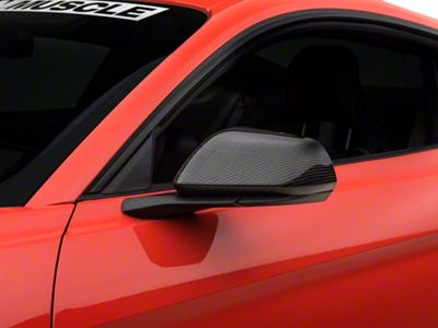 Carbon Fiber Mirror Covers (15-19 GT, EcoBoost, V6)
