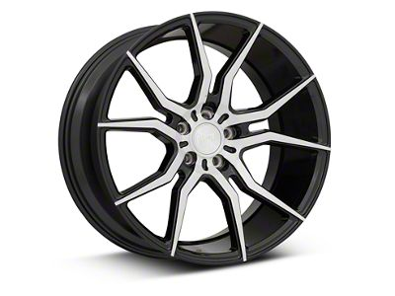 Niche Black Machined Ascari Wheel - 20x10 (05-19 All)