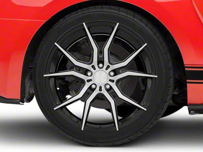 Niche Black Machined Ascari Wheel - 20x10 (15-19 All)