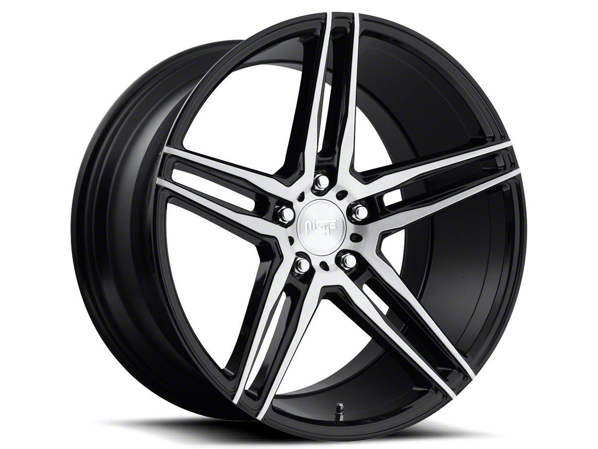 Niche Black Machined Turin Wheel - 20x9 (05-14 All)