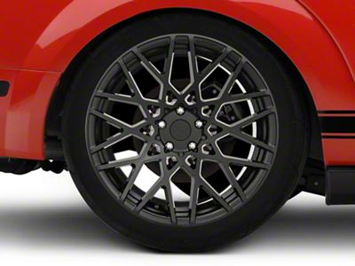 Rotiform TMB Black Machined Wheel - Passenger Side - 19x10 - Rear Only (05-14 All)