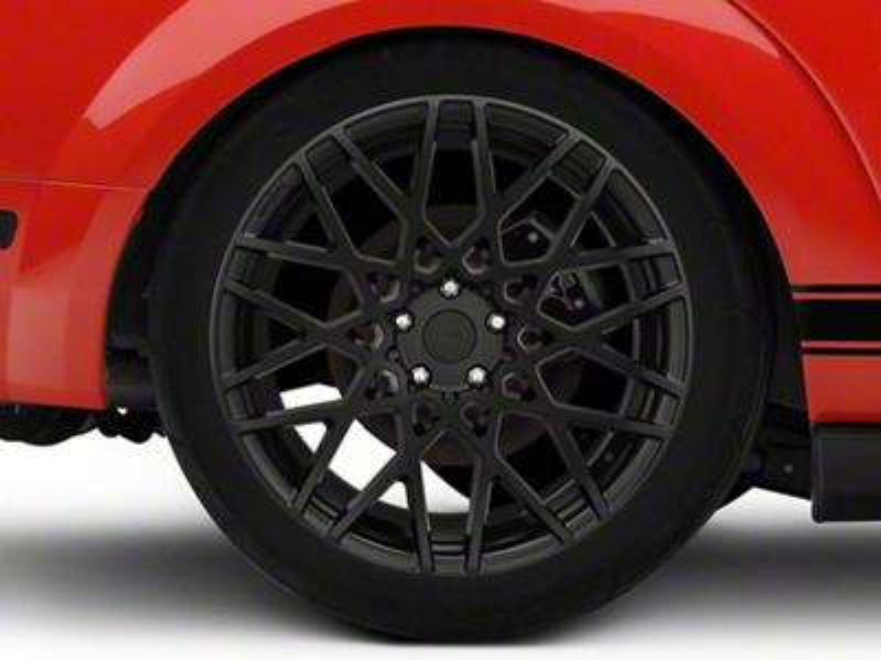 Rotiform BLQ Matte Black Wheel - 20x10 - Rear Only (05-14 All)