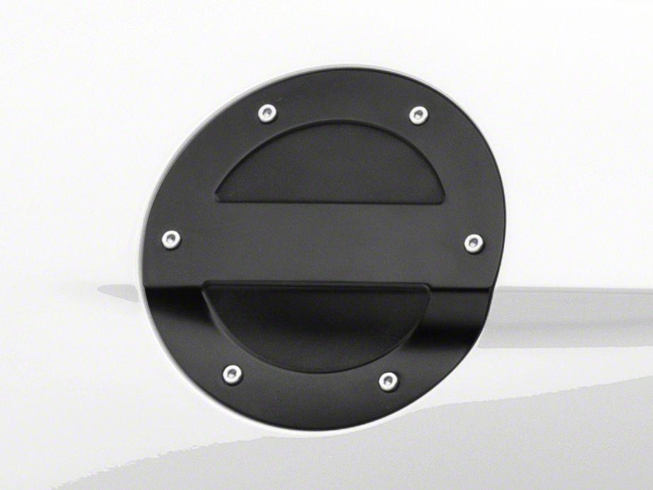 MMD Black Billet Aluminum Fuel Door (15-19 All)
