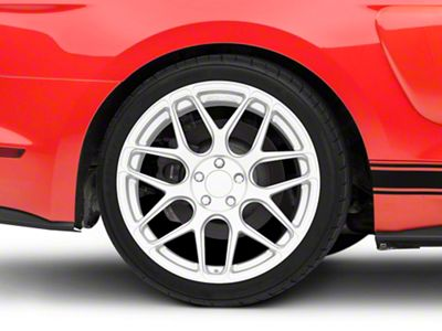 Rovos Pretoria Silver Wheel - 20x10 - Rear Only (15-19 GT, EcoBoost, V6)