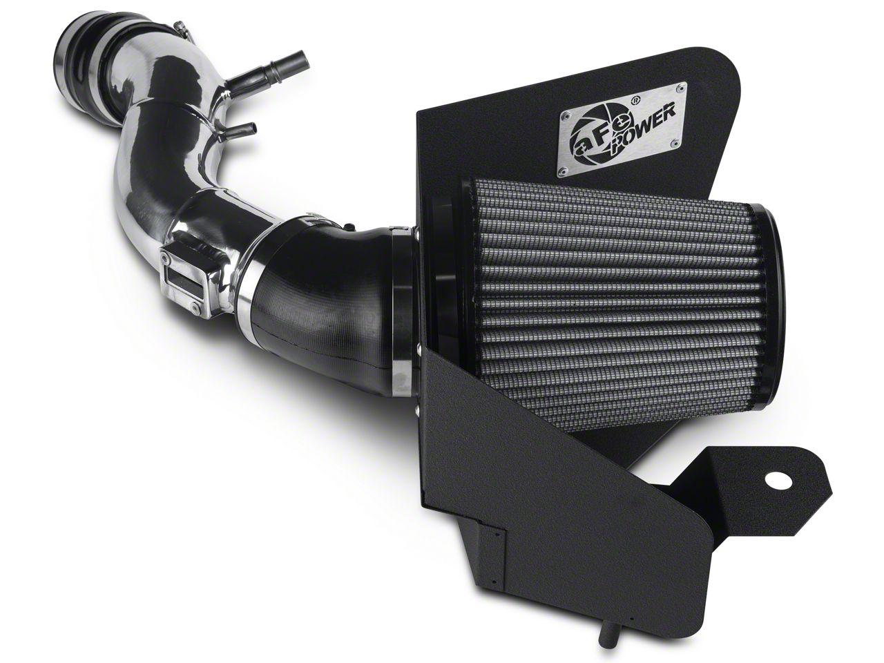 AFE Magnum FORCE Stage 2 Pro DRY S Cold Air Intake - Polished (11-14 V6)