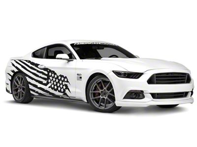 American Muscle Graphics Battle Born Side Graphics Package (05-19 Coupe/Fastback)