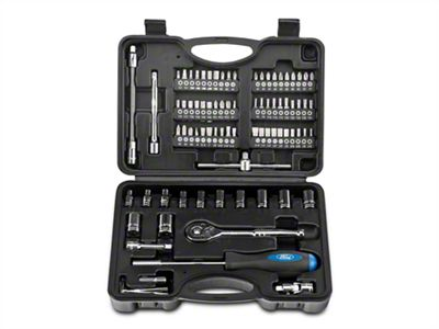 Ford 82 Piece 1/4 in. Socket Set - SAE