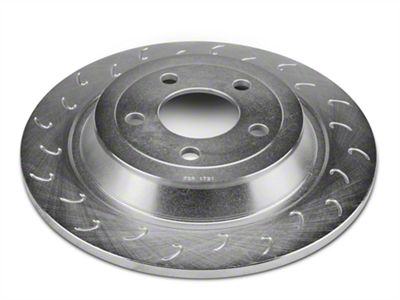 J Hook Slotted Rotors - Rear Pair (15-19 EcoBoost, V6)