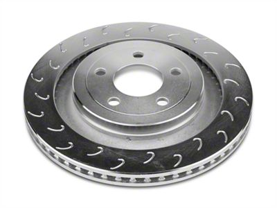 J Hook Slotted Rotors - Rear Pair (15-19 GT, EcoBoost w/ Performance Pack)