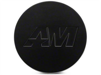 Matte Black AmericanMuscle Center Cap Kit (94-19 All)