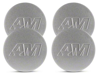 Silver AmericanMuscle Center Cap Kit (94-19 All)