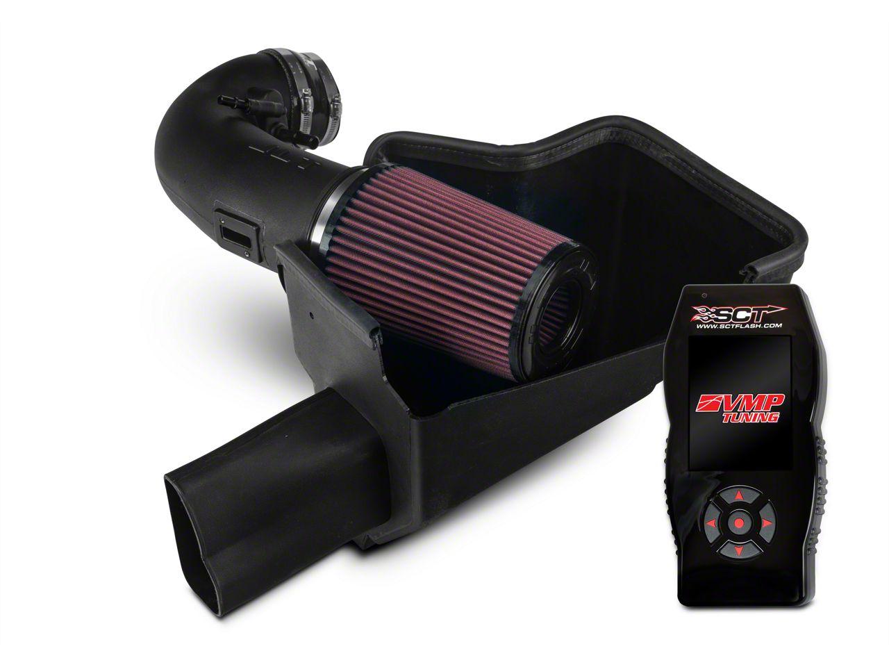 JLT Cold Air Intake & SCT X4 Tuner w/ VMP Tunes (15-17 GT350)