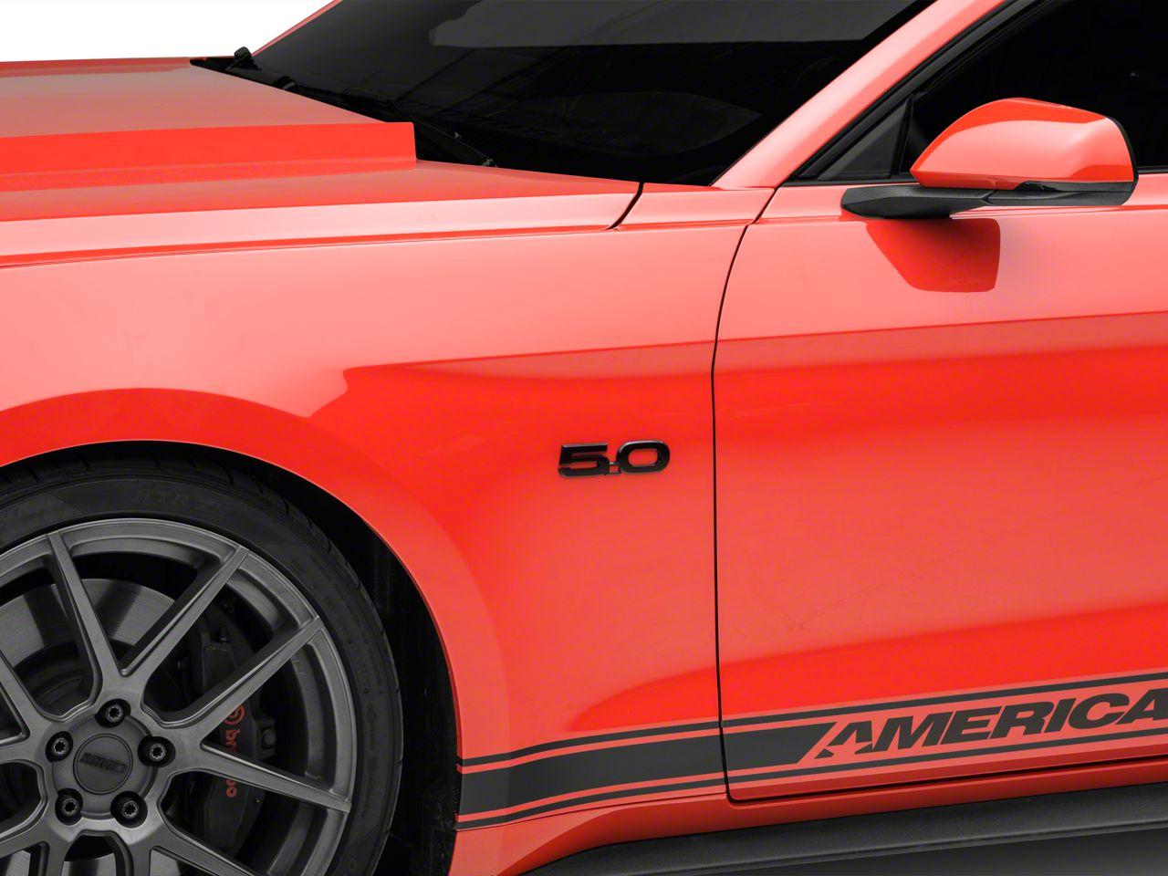 Ford Black Fender Emblem - Driver Side (15-19 GT)