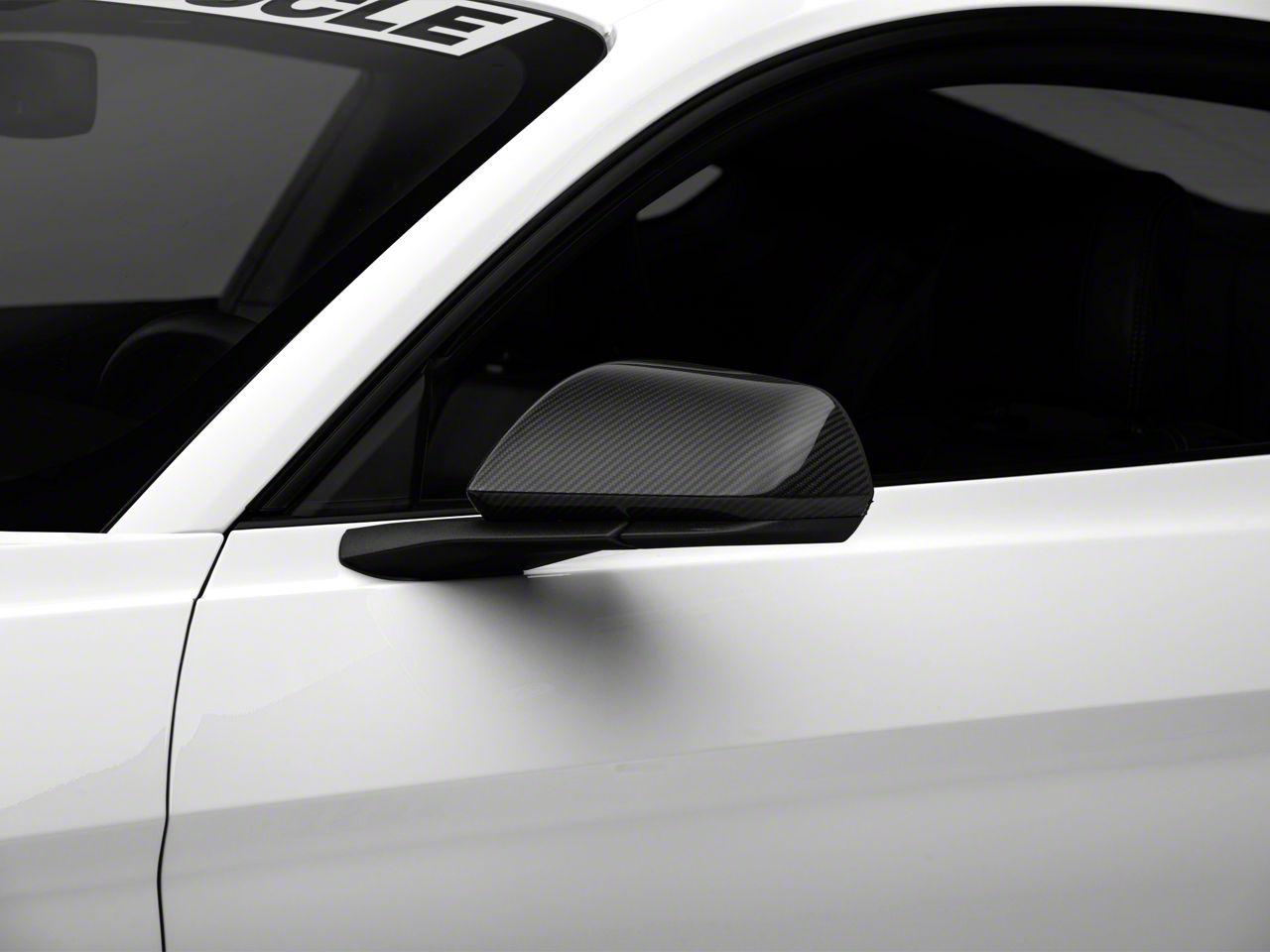 MMD Carbon Fiber Mirror Covers (15-19 GT, EcoBoost, V6 w/o Mirror Signals)