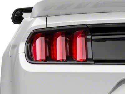 MMD Carbon Fiber Tail Light Bezels (15-17 All, Excluding 50th Anniversary)