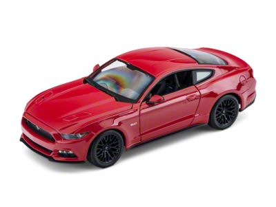 Maisto 2015 Red Ford Mustang GT Diecast Model - 1:18 Scale