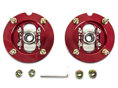 Pedders Adjustable Camber Plates for Extreme XA Coilovers (05-14 All)