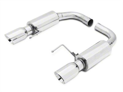 Axle-Back Exhaust - Stainless (15-17 GT)