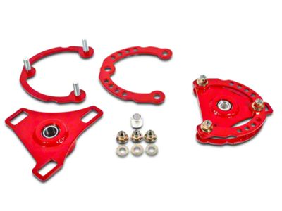 BMR Caster Camber Plates - Red (15-19 All)