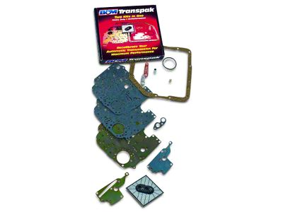 B&M Transpak Automatic Transmission Shift Kit (80-92 V8, Excluding 1992 w/ Electric Shift)