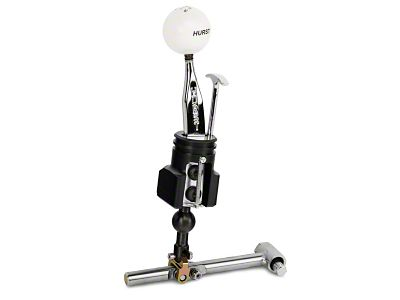 Hurst Competition Plus Short Throw Shifter w/ Classic White Knob (15-19 GT, EcoBoost, V6)