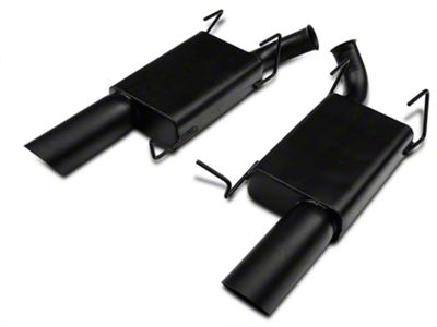MAC Axle-Back Exhaust - Black Ceramic Coated (11-14 GT)