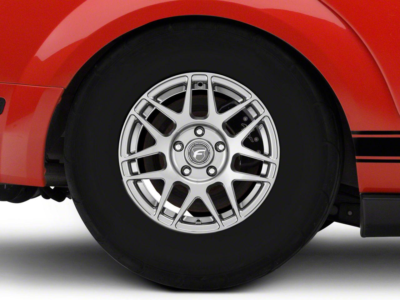 Forgestar F14 Drag Edition Gunmetal Wheel - 15x8 - Rear Only (05-14 All)