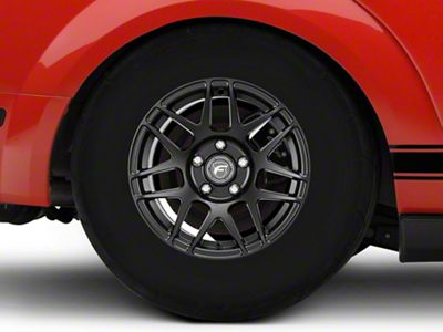 Forgestar F14 Drag Edition Matte Black Wheel - 15x10 - Rear Only (05-14 All, Excluding GT500)