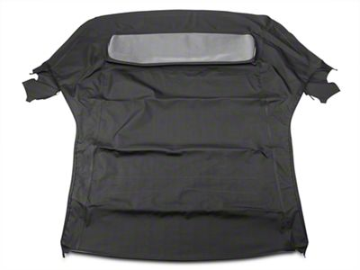 OPR Replacement Convertible Top w/ Plastic Rear Window - Black (05-14 Convertible)