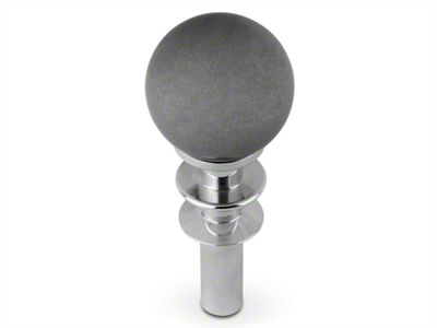 White Madness Automatic Transmission Shifter Conversion Kit - Silver Shift Knob (15-19 GT, EcoBoost, V6)