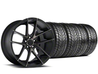 Niche Targa Matte Black Wheel & NITTO NT555 G2 Tire Kit - 19x8.5 (05-14 All)