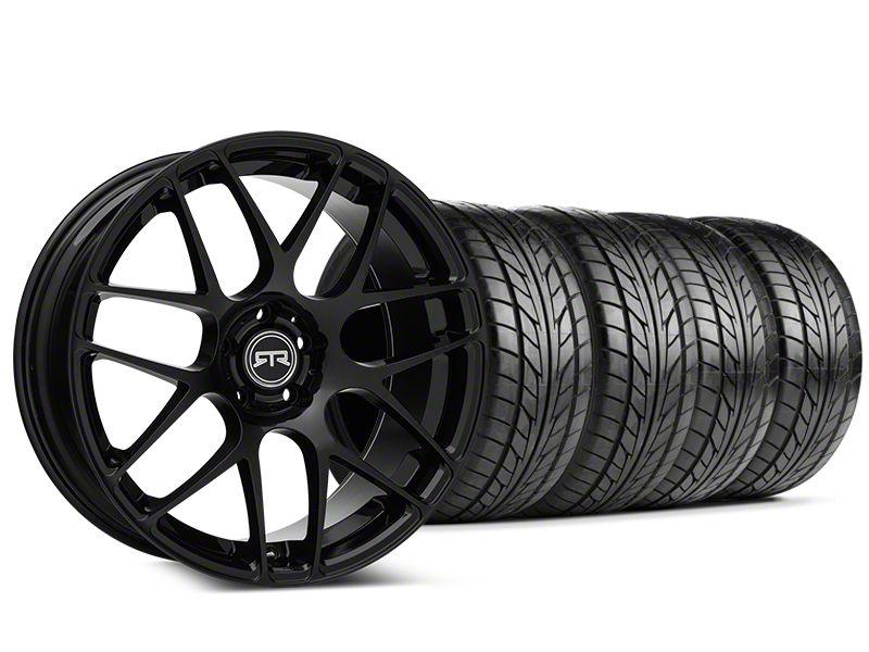 RTR Black Wheel & NITTO NT555 G2 Tire Kit - 19x8.5 (05-14 All)