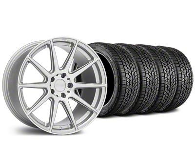 Niche Essen Silver Wheel & BF Goodrich G-FORCE COMP 2 Tire Kit - 19x8.5 (05-14 All)