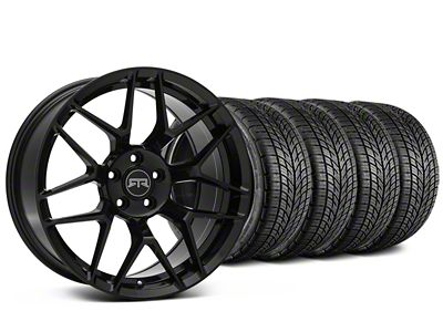 RTR Tech 7 Black Wheel & BF Goodrich G-FORCE COMP 2 Tire Kit - 19x9.5 (05-14 All)