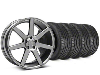 Niche Verona Anthracite Wheel & Michelin Pilot Super Sport Tire Kit - 20x9 (05-14 All)
