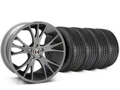 Shelby CS1 Gunmetal Wheel & Michelin Pilot Super Sport Tire Kit - 20x9 (05-14 All)