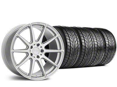 Niche Essen Silver Wheel & NITTO NT555 G2 Tire Kit - 19x8.5 (15-19 GT, EcoBoost, V6)