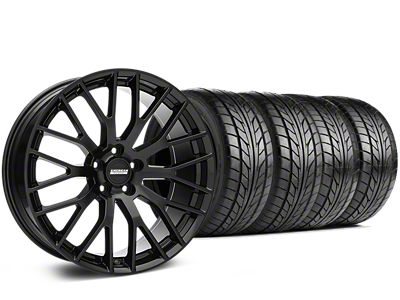 Performance Pack Style Black Wheel & NITTO NT555 G2 Tire Kit - 19x8.5 (15-19 GT, EcoBoost, V6)
