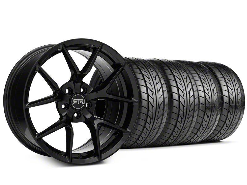 RTR Tech 5 Black Wheel & NITTO NT555 G2 Tire Kit - 19x9.5 (15-19 GT, EcoBoost, V6)