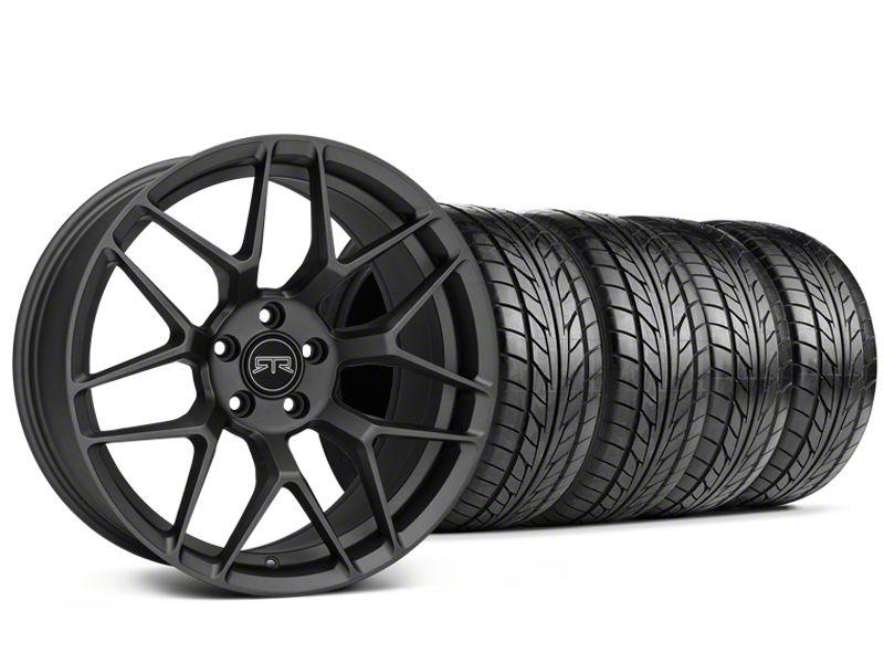 RTR Tech 7 Charcoal Wheel & NITTO NT555 G2 Tire Kit - 19x9.5 (15-19 GT, EcoBoost, V6)