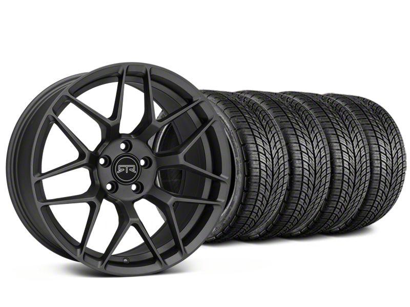 RTR Tech 7 Charcoal Wheel & BF Goodrich G-FORCE COMP 2 Tire Kit - 19x9.5 (15-19 GT, EcoBoost, V6)