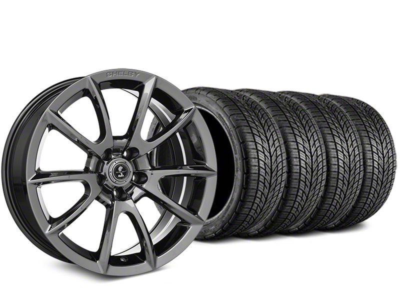 Shelby Super Snake Style Chrome Wheel & BF Goodrich G-FORCE COMP 2 Tire Kit - 19x8.5 (15-19 GT, EcoBoost, V6)