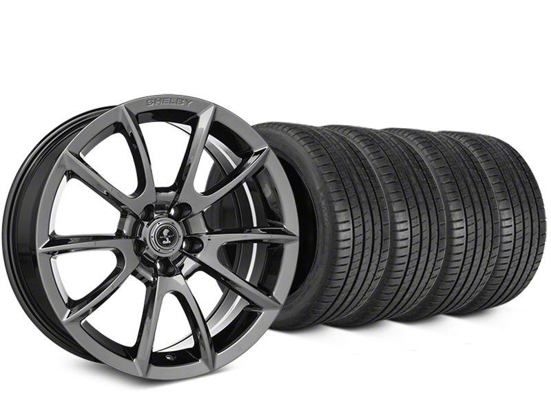 Shelby Super Snake Style Chrome Wheel & Michelin Pilot Super Sport Tire Kit - 19x8.5 (15-19 All)