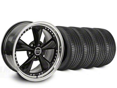 Bullitt Motorsport Black Wheel & Michelin Pilot Super Sport Tire Kit - 20x8.5 (15-19 EcoBoost, V6)