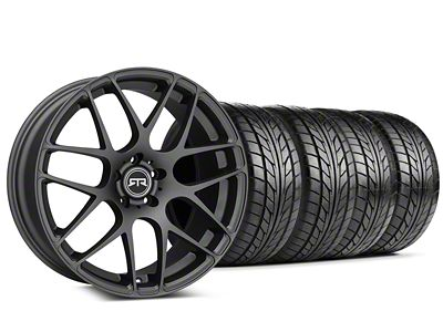 Staggered RTR Charcoal Wheel & NITTO NT555 G2 Tire Kit - 19x8.5/10 (05-14 All)