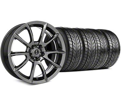 Staggered Shelby Super Snake Style Chrome Wheel & NITTO NT555 G2 Tire Kit - 19x8.5/10 (15-19 All)