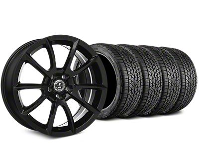 Staggered Shelby Super Snake Style Black Wheel & BF Goodrich G-FORCE COMP 2 Tire Kit - 19x8.5/10 (15-19 All)