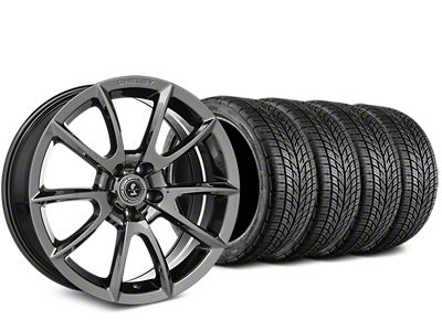 Staggered Shelby Super Snake Style Chrome Wheel & BF Goodrich G-FORCE COMP 2 Tire Kit - 19x8.5/10 (15-19 All)