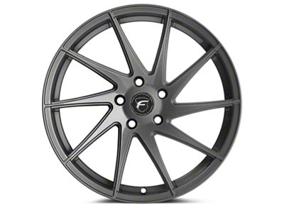 Forgestar F10D Gunmetal Direction Wheel - Passenger Side - 19x9 (15-17 All) (15-19 All)